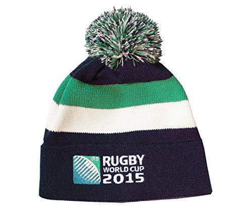 Mütze mit Bommel-Rugby-Weltmeisterschaft Fame 2015-Offizielle Kollektion-TA...