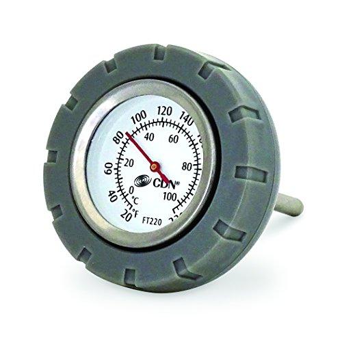 Preisvergleich Produktbild CDN Multi-Purpose Floating Waterproof Stainless Steel Thermometer, Custard Sauce