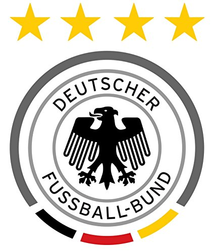 Germany Football Team - Crest Logo Wall Poster Print - UEFA Euro 2016-43cm x 61cm / 17 Inches x 24 Inches A2 -
