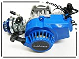 kmhOnline Pocket Bike 49cc Motor 3,5 PS Hohes Tuning (blau)