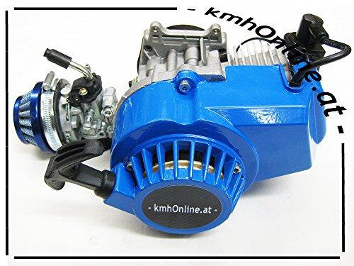kmhOnline Pocket Bike 49cc Motor 3,5 PS Hohes Tuning (blau)