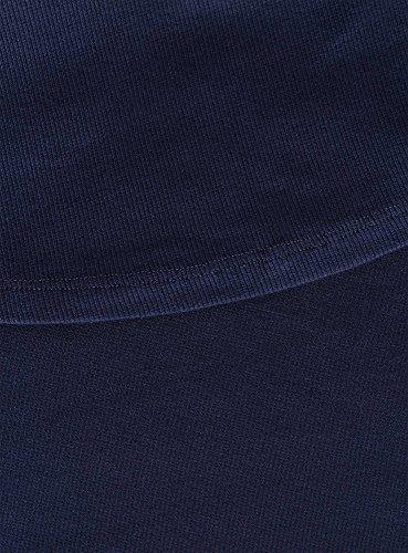 oodji Ultra Donna Canotta Basic Blu (7900N)