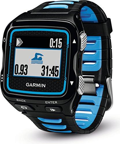 Garmin Forerunner 920XT Multisport-GPS-Uhr – Schwimm-, Rad-, Laufeffizienzwerte, Smart Notification, inkl. Herzfrequenz-Brustgurt, 1,3 Zoll (3,3cm) Display - 3