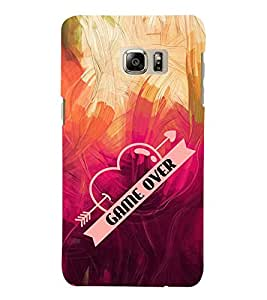 Game Over 3D Hard Polycarbonate Designer Back Case Cover for Samsung Galaxy Note 7 : Samsung Galaxy Note 7 N930G : Samsung Galaxy Note 7 Duos
