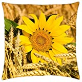 Sunflower - Throw Pillow Cover Case (18