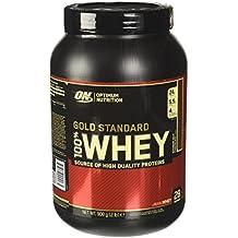 Optimum Nutrition Gold Standard 100% Whey Proteine del Siero di Latte in Polvere, Gusto Cioccolato al latte - 908 gr