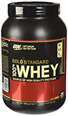 Idea Regalo - Optimum Nutrition Gold Standard 100% Whey Proteine del Siero di Latte in Polvere, Gusto Cioccolato al latte - 908 gr