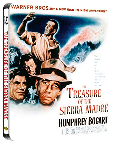 Bild von Der Schatz der Sierra Madre (The Treasure of the Sierra Madre) - Steelbook (UK Import)[Blu-ray]