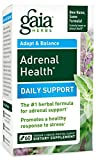 Gaia Herbs Adrenal Health, 60 liquid-filled veg capsules, Bottle from Gaia Herbs