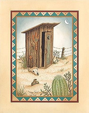 Linda Spivey – Happy Trails Fine Art Print (27.94 x 35.56 cm)