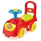 Dolu Children\'s Sit\' N Ride Push Along Car Vehicle Toy Storage Under Seat Age 12+ Months - Multicoloured