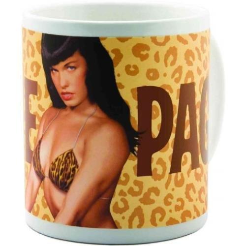 Bettie Page: Leopard Mug Bettie Page Leopard