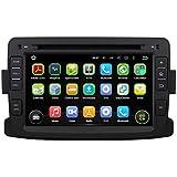 7 Pulgadas Coche Estéreo con GPS Navegación Android 5.1.1 Lollipop OS para Renault Duster