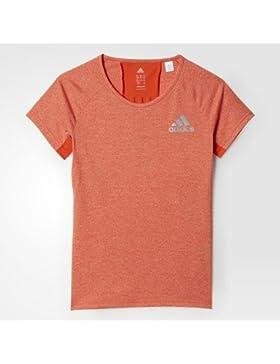 adidas Mädchen Yg Run Tee Shirt