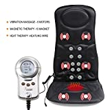 VIKTOR JURGEN Vibration Car Massage Seat Cushion for Back Massager/Home Massage Chair with Heat Function.