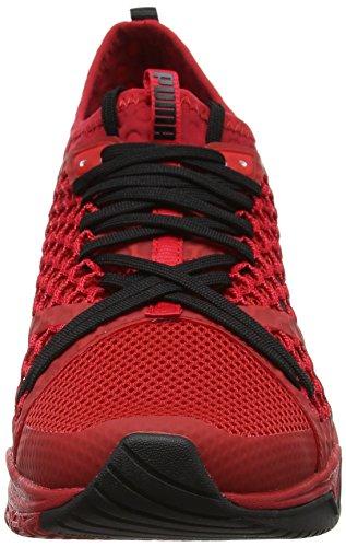 Puma Ignite XT Netfit, Chaussures de Fitness Homme Rouge (Toreador-black)