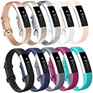 AK for Fitbit Alta Bands/Fitbit Alta HR bands (10 PACK), Replacement Bands for Fitbit Alta/Alta HR