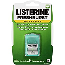 Listerine Fresh Burst Mouth Freshener - 24 Breath Strips