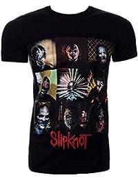 Official Slipknot Blocks T Shirt (Black)