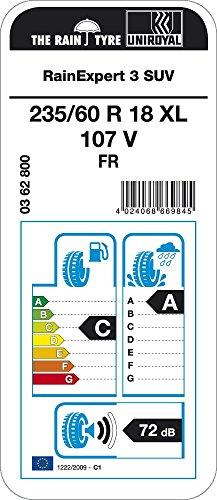 Uniroyal RainExpert 3 - 235/60/R18 107V - C/A/72 - Pneu été (4x4)