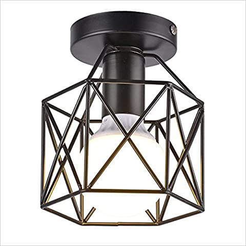 Nordic Modern Simple Chandelier Iron Craft Lampshade High Brightness E27 Light Source Creative DIY Modeling Nordic Corridor Lamp Aisle Loft Lights Balcony Iron Art Lights 110-240 Volts AC