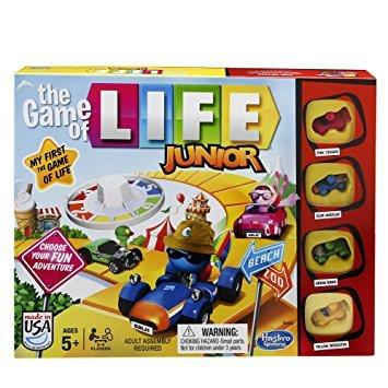 Hasbro Gaming Il Gioco della Vita Junior, Gioco in Scatola