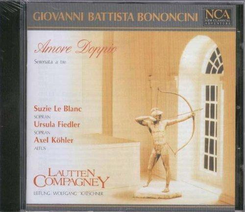 Giovanni Battista Bononcini: Amore Doppio (Gesamtaufnahme)