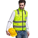 Eastlion High End Hi Vis Weste, Gelb, Medium