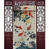 JIANFEI Thermo-Türvorhang Trennwand Vorhang Rollo Okklusion Privatsphäre, 3 Farben 20 Größen Anpassbar (Farbe : 3#, größe : 120x210cm)