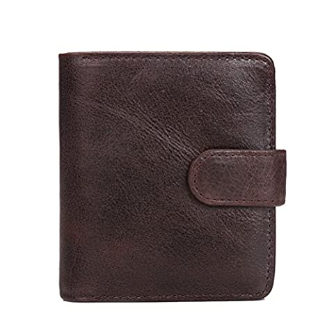 Zhuhaitf portefeuille Mens Durable High Quality Wallet with Zipper Pocket