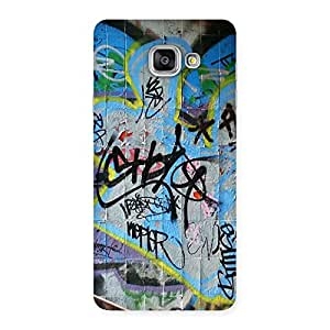 Gorgeous Random Art Multicolor Back Case Cover for Galaxy A7 2016