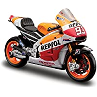 2014 Honda RC2 13V Repsol #93 Marc Marquez Motorcycle Model 1/18 by Maisto 34587 MA by Maisto - Compare prices on radiocontrollers.eu