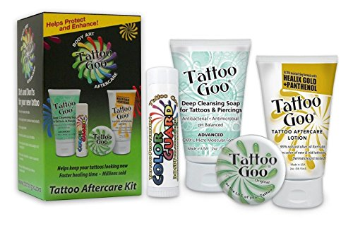 4 In 1 Tattoo Goo Aftercare Kit (Kit Tätowierung)