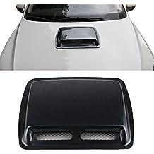 1 pcs coche estilo pegatinas Abs Coche decorativo de flujo de aire de admisión Scoop Turbo