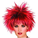 Funky Cool Look Colourful Wig - Holi/Party/Halloween/Fancy Dress/any Fun Occasion for Kids/Adults/Senior Citizens (Color may vary) by Heirloom Quality