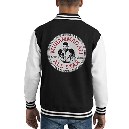 All-star-boxer (Muhammad Ali All Star Converse Logo Kid's Varsity Jacket)