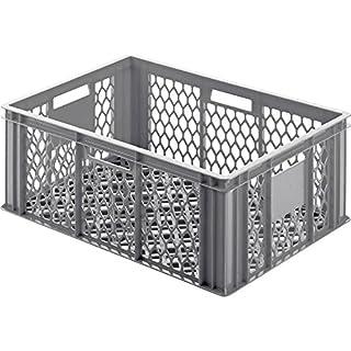 Alutec Klappdeckelbox (L x B x H) 400 x 600 x 250mm Grau 05065 1St.