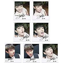 BTS bangtan Boys fancafe jungkook Self Wide Polaroid Photo Juego Ver.2