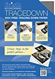 Tracedown A4 Graphite - Pack of 5 Sheets
