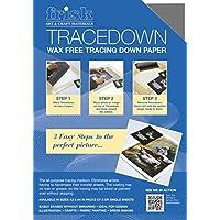 Frisk Tracedown - Papel de calco gráfico (A3, 5 unidades), color gris grafito