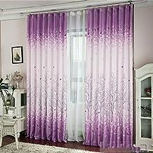 tongshi sombreado floral de la gasa de la cortina de puerta divisor de la cortina de