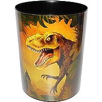alles-meine.de GmbH Papierkorb / Behälter -  Dinosaurier - Tyrannosaurus Rex  - aus Kunststoff - Mülleimer / Eimer - Aufbewahrungsbox für Kinder / Büro - Jungen - Abfalleimer -..