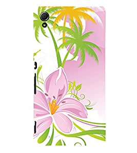 printtech Floral Pattern Back Case Cover for Sony Xperia Z3 Plus / Sony Xperia Z3+
