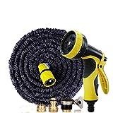 Hochdruck-Autowaschwasserpistole Bewässerung Artefakt Multifunktions-Wasserkopf Teleskop-Waschbürste Wasserpistole Wasserrohr-Set