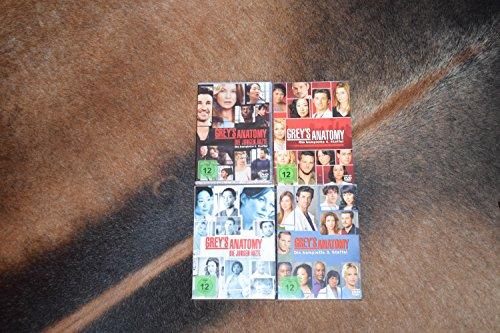 Grey's Anatomy: Die jungen Ärzte - Die komplette 1./2./3./4. Staffel [22-DVD / 4-Boxen] (Greys Anatomy Staffel 2 Und 3)