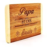 Frühstücksbrett Papa ist der Beste - Geburtstagsgeschenk - Weihnachtsgeschenk - Vatertagsgeschenk