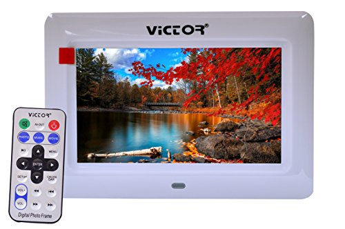 Victor Dpf-7043 Digital Photo Frame With Remote 7 inch