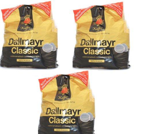 Dallmayr 3 x 100 Pads Classic, 3er Pack (3 x 700 g)