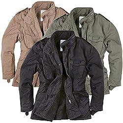 Surplus Men Winter Jacket Paratrooper, Größe:XL, Farbe:Beige Gewaschen