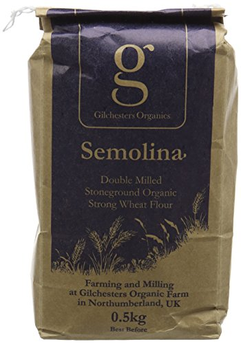 Gilchesters Organics Organic Semolina Fine Wheat Flour 500 g (Pack of 6) Test